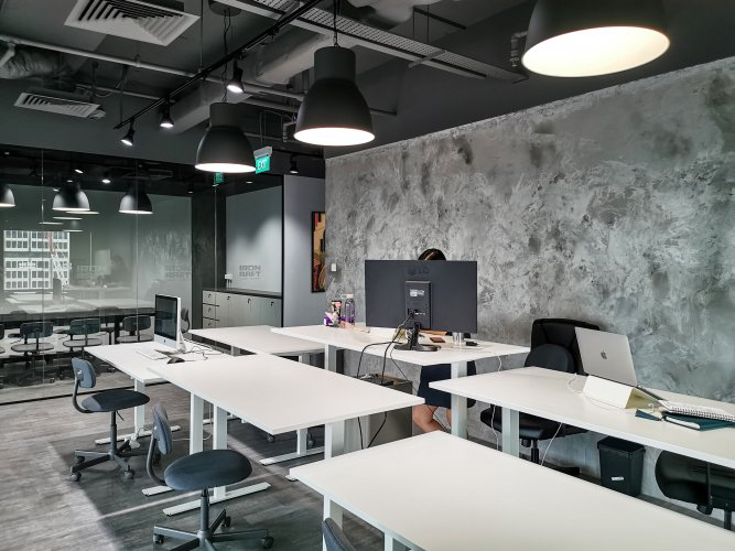 VIEW 02 - GENERAL WORKING SPACE