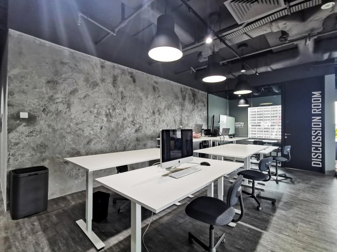 VIEW 03 - GENERAL WORKING SPACE