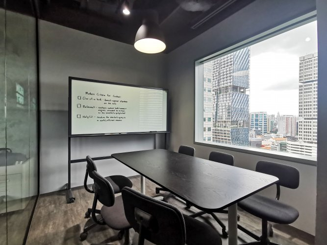 VIEW 10 - DISCUSSION ROOM